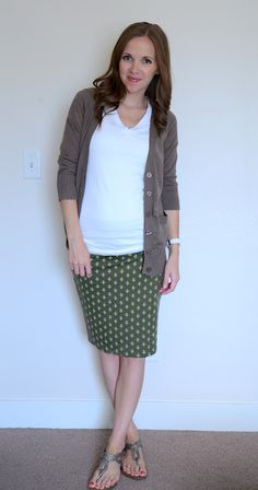 Sewing - easy pencil skirt