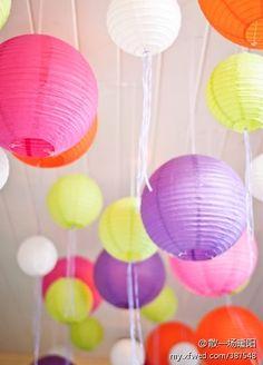 wedding lanterns <3
