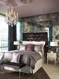 Urban Glam Guest Bedroom, Eclectic Bedroom - gorgeous