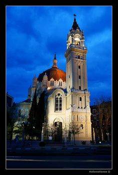 Iglesia de San Manuel y San Benito, #Madrid, Spain