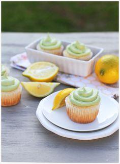 Green Tea Lemon Cupcakes recipe