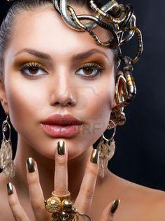 fashion jewelry model