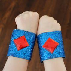 Rachael Rabbit: Paper Roll Craft: Super Hero Bracelets