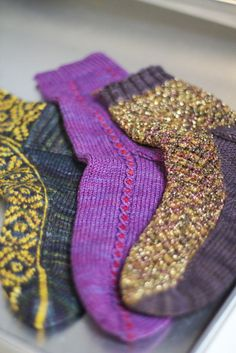 These are behind the scenes photos from the video shoot for Knit Free-Sole Socks: Handknit Socks to Last a Lifetime with Anna Zilboorg.