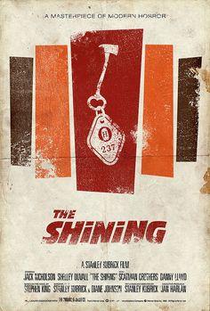 Original movie poster: The Shining.