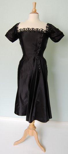 1950s Bonwit Teller dress