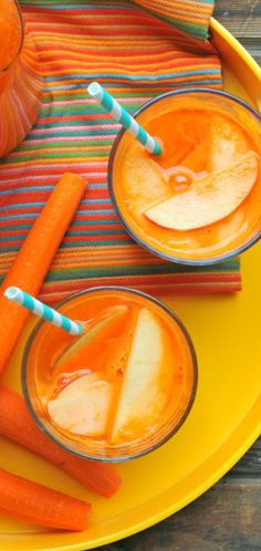 Deliciously healthy carrot apple sangria recipes!