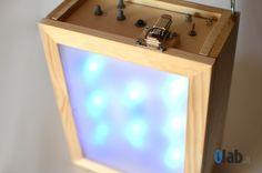 ili – led lamp rgb width Arduino inside