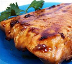 Maple-Chipotle Glazed Salmon. Yummy! Making this tonight! I'll be adding some fresh Rosemary to the glaze too!