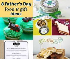 fathers day food and gift ideas