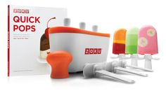 Popsicle Making Kit....makes awesome popsicles in 7 minutes.