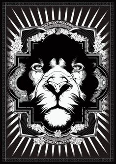 Lion Series on the Behance Network