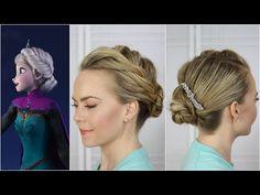Peinado Disney, Frozen. Tutorial