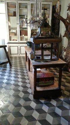 Table de drapier chene
