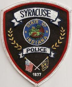 Police Dept. Patch