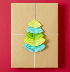 Cute way to wrap a kitchen gift! More gift wrap ideas: http://www.midwestliving.com/holidays/christmas/easy-christmas-gift-wrap-ideas/page/3/0