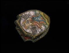 colour silk, frame, antiqu accessori, antiqu purs, metals, bag, metal mount, 17001799, purses
