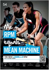 Les Mills RPM- the best cycling class ...except if I did this in my class everyone would keel over