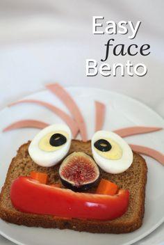 Easy face bento that