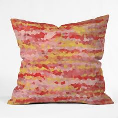 Rosie Brown Warm Tropics Outdoor Throw Pillow | DENY Designs Home Accessories #art #abstract  #throwpillow #pillow #homedecor #denydesigns #deco