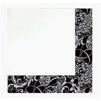 3 Ply Silhouette Disposable Cocktail Beverage Napkin
