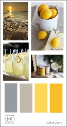 color pallet from patio