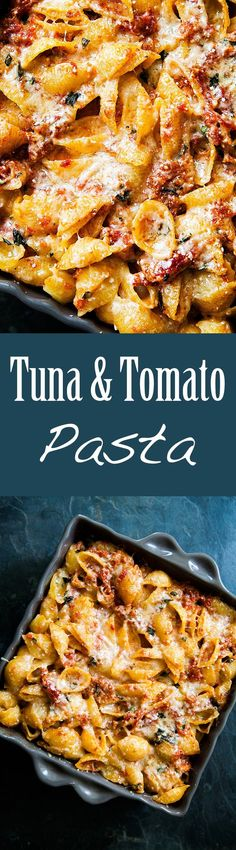 Tuna and Tomato Past
