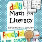 5 Pages of quick independent Daily Math and Literacy mini review worksheets! This mini packet includes 5 sample pages for you to try in your classr...