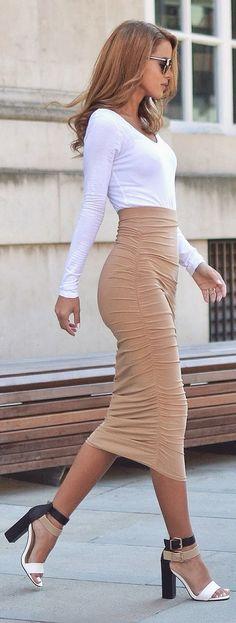 Outfits que s??lo las prendas de manga larga podr??n darte
