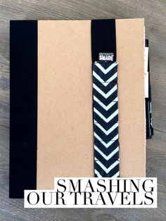 "*Excellent post from Katie the Scrapbook Lady*   SMASH Book of our Travels I've been ""smashing"" up our memories lately and putting all sorts of loose little pieces into SM..."