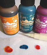All about alcohol inks.
