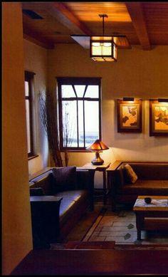 Arts & Crafts Living Room   Greene & Greene   Bungalow