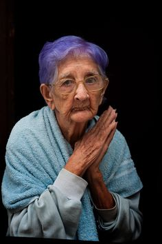 When I am an old woman, I shall wear purple. - YES! Me Too!