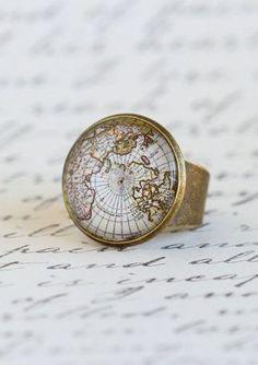 Cocktail Ring Map For Traveler