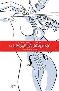 hors, umbrellas, cover books, graphic novels, artworks, apocalypse, comic books, umbrella academi, book series