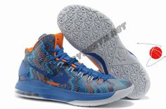 Blue Glow Midnight Navy Nike Zoom KD 5 iD Offers New Graphic Pattern Holiday Promotions