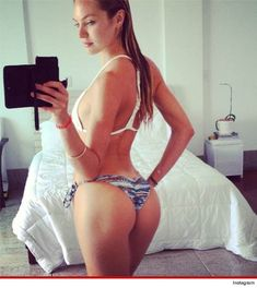 Candice Swanepoel's Ass -- The Amazing Bikini Swallower
