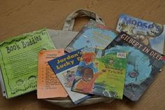 Book Buddies Letter to Parents and Information for creating Book Buddy Bags for the Classroom