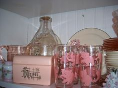 pink elephant set of 6 by outhouse man, via Flickr
