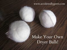 Forget Fabric Softener. Make Your Own Dryer Balls.