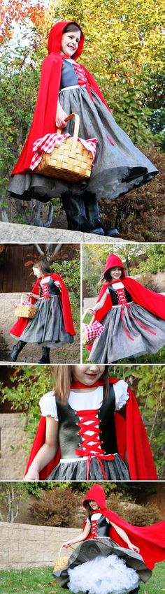 Little Red Riding Hood  Costume DIY