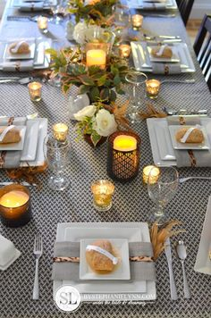 Thanksgiving Table Setting | Setting a Fall Tablescape with @Better Homes and Gardens @ Walmart