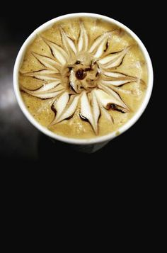 There's a picture of my latte art on this random coffee blog!