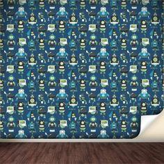 Robots Wall Decals  #WallsNeedLove