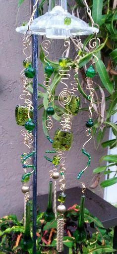 wind chime, sun catcher, verd suncatch, casa verd