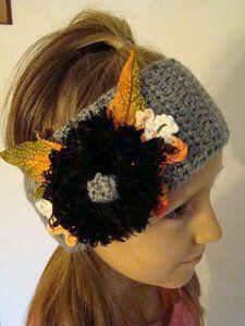 Crochet Fall Headband | AllFreeCrochet.com