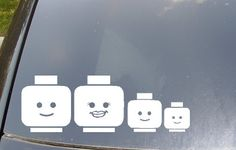 Car Decals That Are Infinitely More Awesome Than Stick Figures via Babble.com