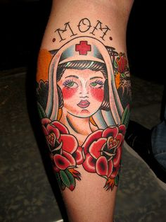 nurse mom1 by Myke Chambers Tattoos,