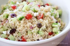 Mediterranean Quinoa Salad | Skinnytaste