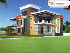 5 Bedrooms Duplex House Design in 450m2 (18m X 25m)  An Online Complete Architectural Solution Provider Company Click this link to view more details - http://www.apnaghar.co.in/search-results.aspx